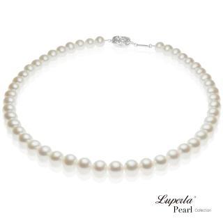 【大東山珠寶】皇后天然淡水珍珠項鍊(經典珍珠白)