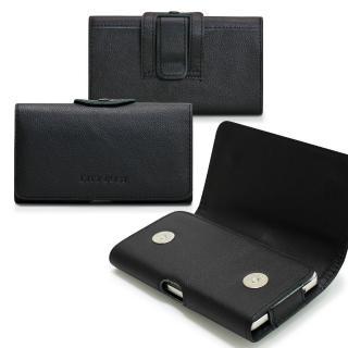 【CB】三星Galaxy A7/A8/ S6 Edge+精品真皮橫式腰掛皮套