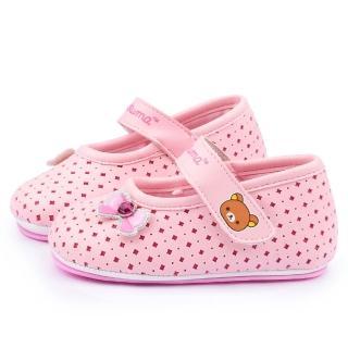 【童鞋城堡】拉拉熊 小童 透氣學步寶寶鞋(KM82002-粉)