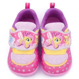【童鞋城堡】彩虹小馬 中童 甜美可愛透氣運動鞋(MP7990-粉)