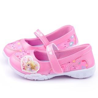 【童鞋城堡】真珠美人魚 中大童 音樂風可愛休閒鞋(PI7122-粉)