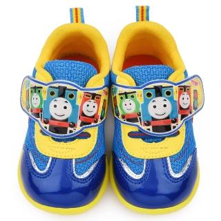【童鞋城堡】湯瑪士 中童 可愛透氣運動鞋(TH50046-藍)