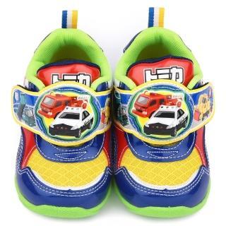 【童鞋城堡】Tomica多美小汽車 中童 帥氣LED燈運動鞋(TM6905-藍)