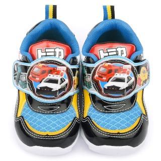 【童鞋城堡】Tomica多美小汽車 中童 帥氣LED燈運動鞋(TM6905-黑)