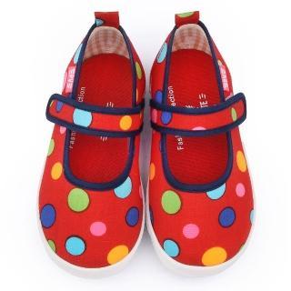 【童鞋城堡】二等兵 中童 普普風帆布休閒鞋(5904-紅)