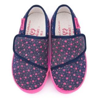 【童鞋城堡】二等兵 中童 滿版星星休閒鞋(5925-桃)