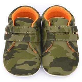 【童鞋城堡】小童 帥氣迷彩休閒鞋(651-綠)