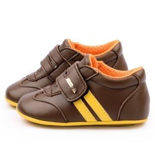 【童鞋城堡】小童 簡約造型休閒鞋(639-咖)