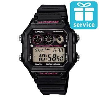 【CASIO】十年電池數位錶(AE-1300WH-1A)