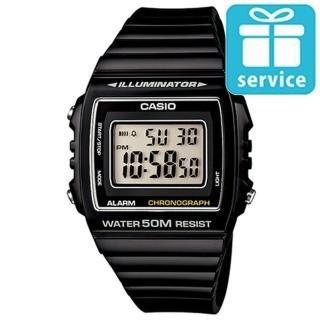 【CASIO】亮眼大螢幕數位錶(W-215H-1A)