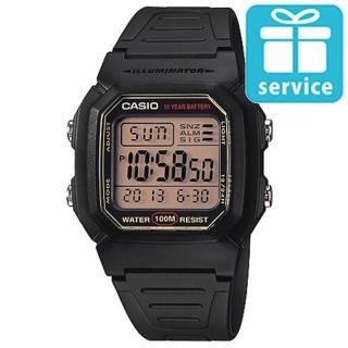 【CASIO】黑極數位電子錶(W-800HG-9A)