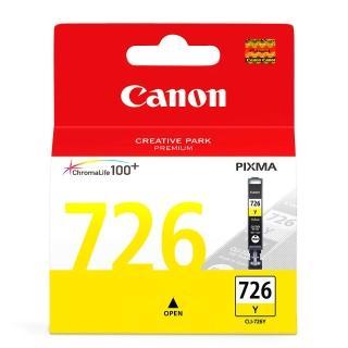 【CANON】CLI-726Y 原廠黃色墨水匣(速達)