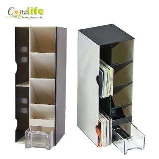 【Conalife】萬用多格桌上收納盒 B款 黑白款/隨機出貨