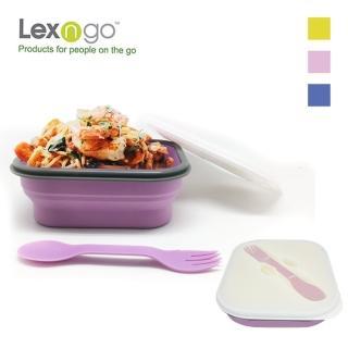 【Lexngo】可折疊義大利麵盒(碗盤 餐具 環保碗 環保盒)