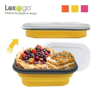 【Lexngo】可折疊快餐盒小(餐盒 碗盤 廚具 便當)