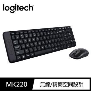 【Logitech 羅技】MK220 無線鍵盤滑鼠組