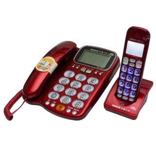 【SANYO三洋】2.4GHz數位無線話筒增音親子機(DCT-8916)