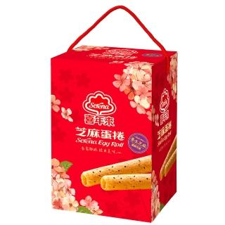 【喜年來】大發芝麻禮盒384g(蛋捲)