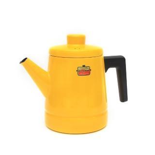 【富士琺瑯】Solid 咖啡壺 1.6L(黃色)