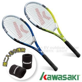 【日本 KAWASAKI】川崎 Power 3D強化鋁合金網球拍2入組(KP1200)