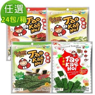 【泰國小老板】厚片海苔原味36g(24包/箱)