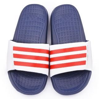 【Adidas】男款 Voloomix Variom 拖鞋(B33492-白藍)