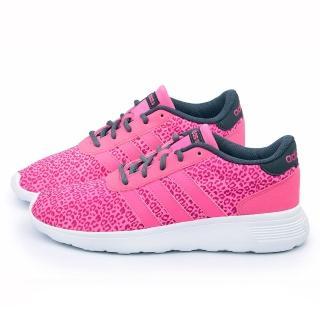 【Adidas】女款 LITE RACER W 超輕量慢跑鞋(F98327-桃紅)