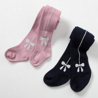 【Dave Bella】蝴蝶結直線內搭褲襪 - 二色可選(DB1560)