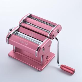 【Marcato】製麵機Atlas150 粉紅(義大利製 壓麵機 健康養生)