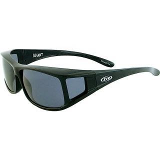 【ZIV 運動太陽眼鏡】ELEGANT外掛眼鏡(黑#23-S100001-1)