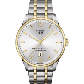 【TISSOT】杜魯爾系列機械動力80腕錶(T0994072203700)