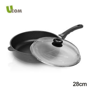【UCOM德國AMT】728單柄不沾平底鍋(28CM)
