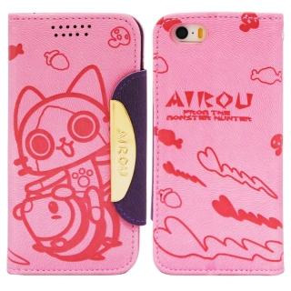 【Aztec】艾路貓 紅米機 掀蓋式皮套 手機殼(大貓粉)