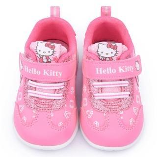 【三麗鷗】Hello kitty 中小童 亮蔥蝴蝶結輕量運動鞋(715112-粉)