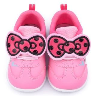 【三麗鷗】Hello kitty 中小童 蝴蝶結造型輕量運動鞋(715113-粉)