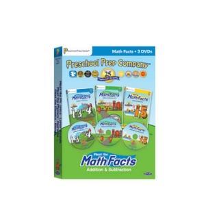 【美國PreSchool Prep】Math Facts 3 DVD(數學 DVD 3片組)