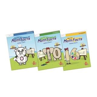 【美國PreSchool Prep】Math Facts Coloring Books(數學著色本-3本)