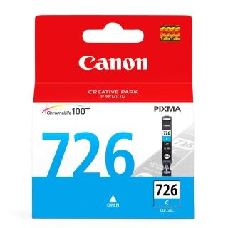 【CANON】CLI-726C 原廠藍色墨水匣(速達)