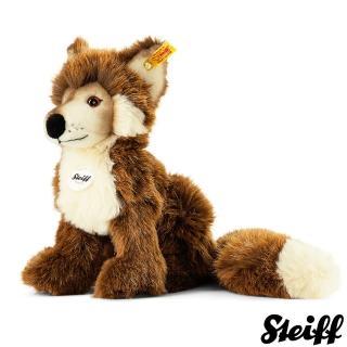 【STEIFF德國金耳釦泰迪熊】Fuxy Fox 狐狸(動物王國)