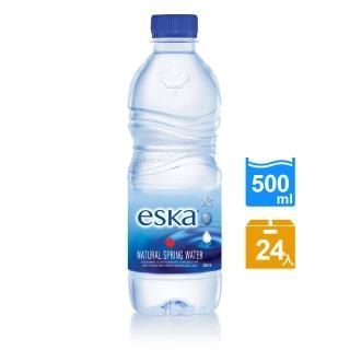 【eska愛斯卡】加拿大天然冰川水 500ML(24入/箱)