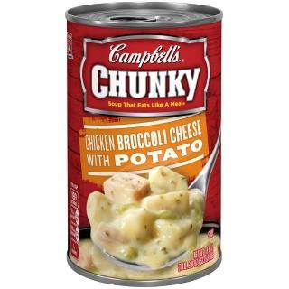 【Chunky】金寶雞肉花椰菜起司馬鈴薯濃湯(18.8oz)