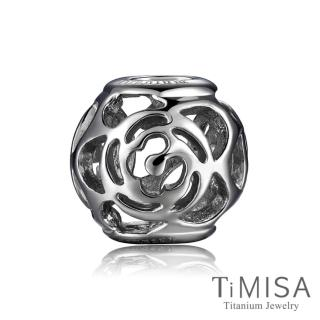【TiMISA】玫瑰花語 純鈦飾品 串珠