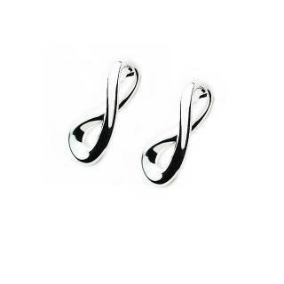 【Georg Jensen】Infinity 純銀針式耳環