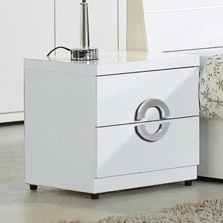 【AT HOME】凱倫白色床頭櫃