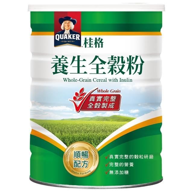 【桂格】順暢配方養生全穀粉600g-罐