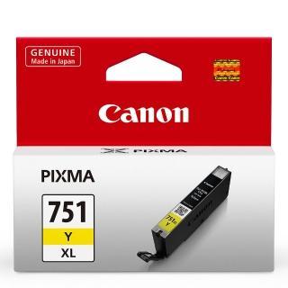【CANON】CLI-751XL-Y 原廠黃色高容量XL墨水匣(速達)