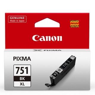 【CANON】CLI-751XL-BK 原廠淡黑色高容量XL墨水匣(速達)