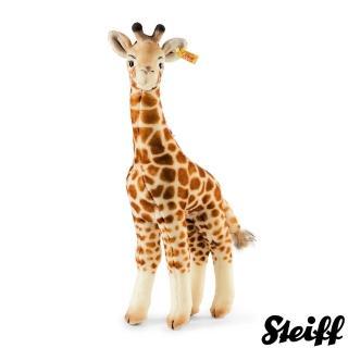 【STEIFF德國金耳釦泰迪熊】Bendy Giraffe 長頸鹿(動物王國)