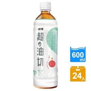 【古道】超油切綠茶-新無糖-600ml*24瓶