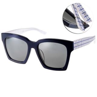 【BLANC&ECLARE太陽眼鏡】城市系列-紐約(藍-白#NEW YORK CW)